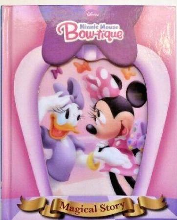 Disney Minnie Mouse Bow-tique Story Book
