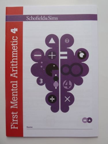 First Mental Arithmetic 6 Learning Workbooks Schofield Sims New KS1 5 7 years