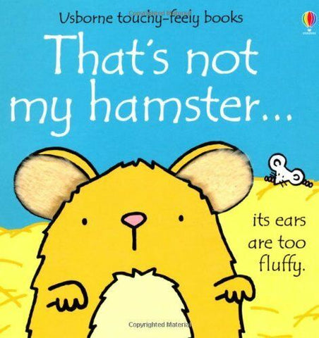 Usborne Touchy-Feely That's Not My Hamester