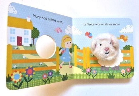 Mary had little lamb Puppet Book