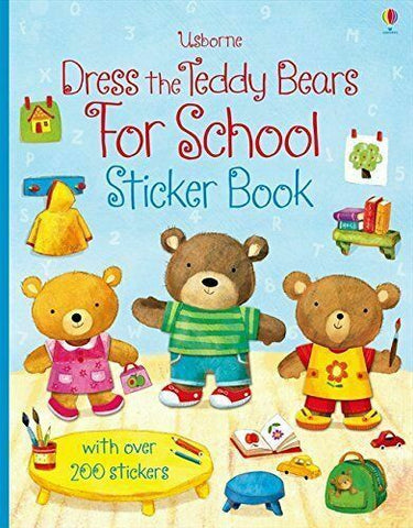 Usborne Dress The Teady Sticker Book