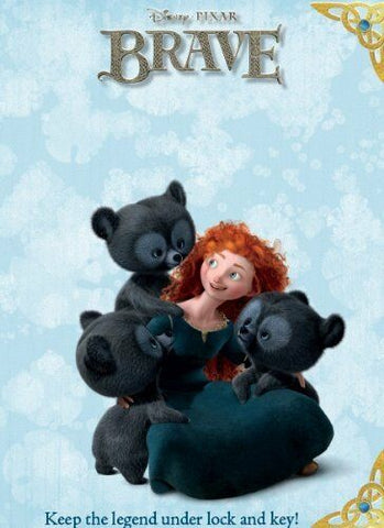 Disney Pixar Brave Keep The Legend Under Lock & Key Activity Book Ages 7+