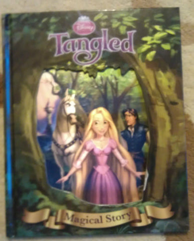 Disney Princess Tangled Fairy Tales Magical Story Book 3D Cover Age 2 10 years