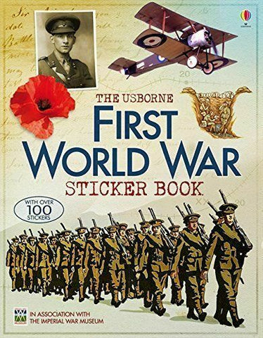 Usborne First World War Sticker Book