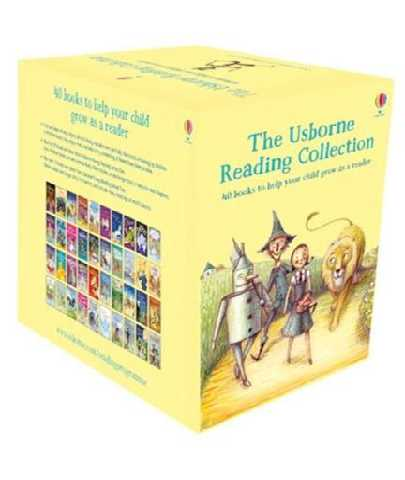 The Usborne Reading Collection for Young Readers Age 6 Paperback 40 Books