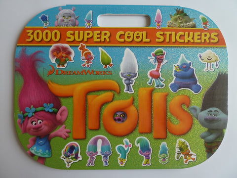 Trolls Trolltastic Stickers 3000 Sticker books