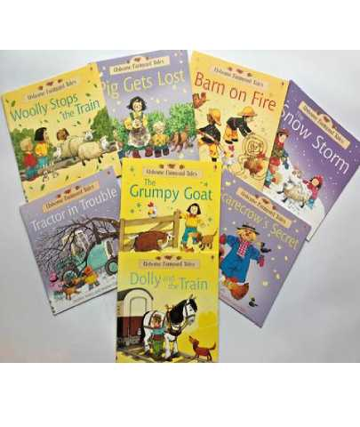 New Usborne Farmyard Tales Collection of 13 reading books Ages 4 Reception year