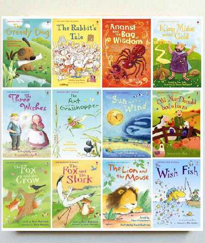 Set of 12 Usborne First Reading Programme For Confident Readers Book Kids Age 6+