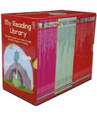 Usborne My Second Reading Library 50 Books