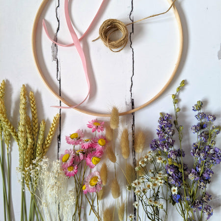 DIY Wreath Kit {Pastels}