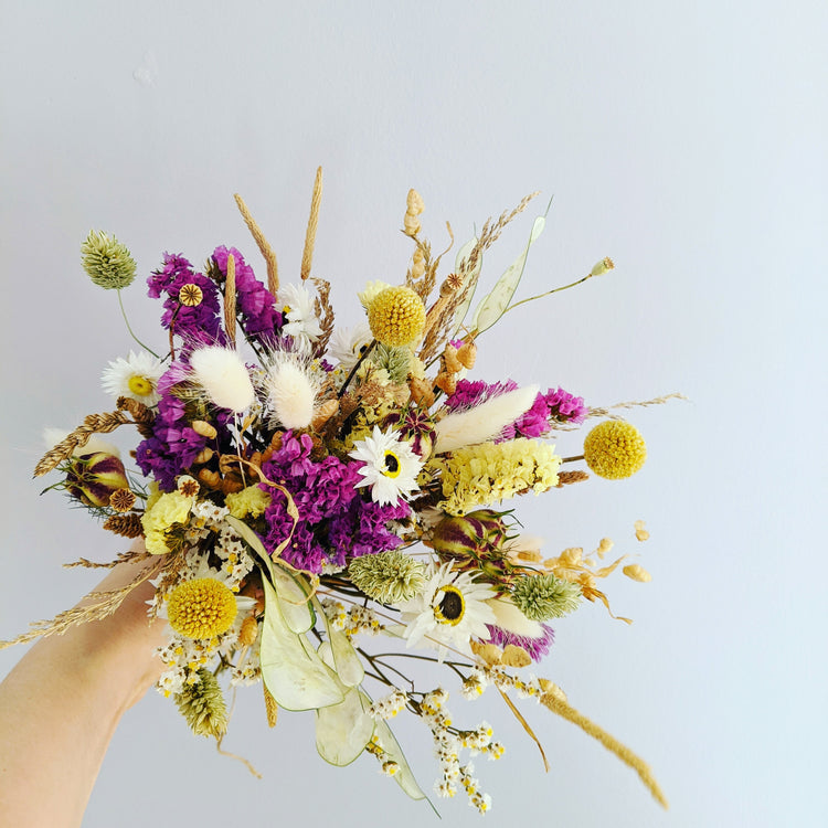 Dried Flower Bouquet {Easter}