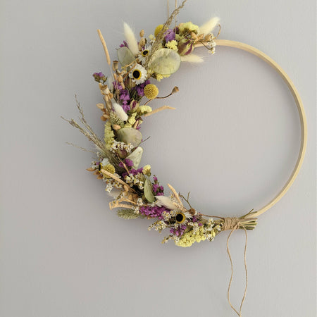 Dried Flower Wreath Making Kit {Easter}