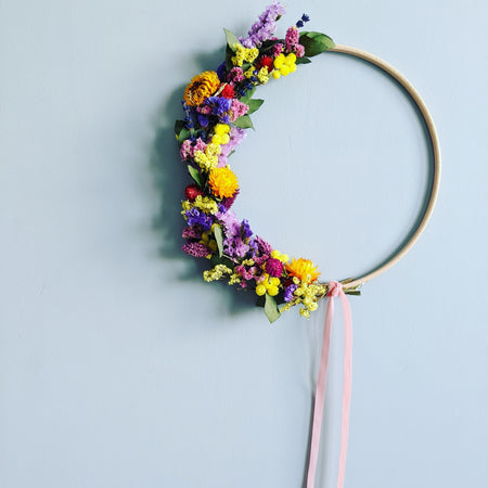 DIY Wreath Kit {Rainbow}