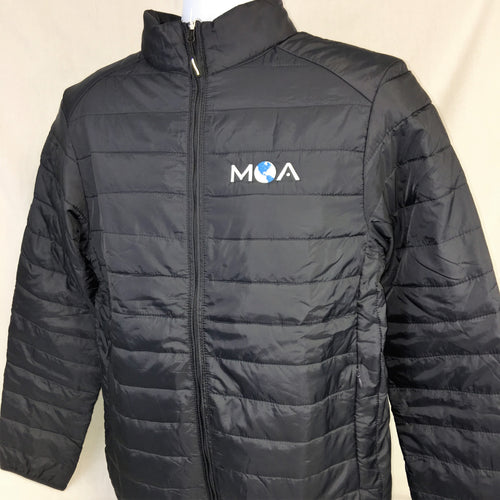 Men's Prevail Packable Jacket in Black or Blue