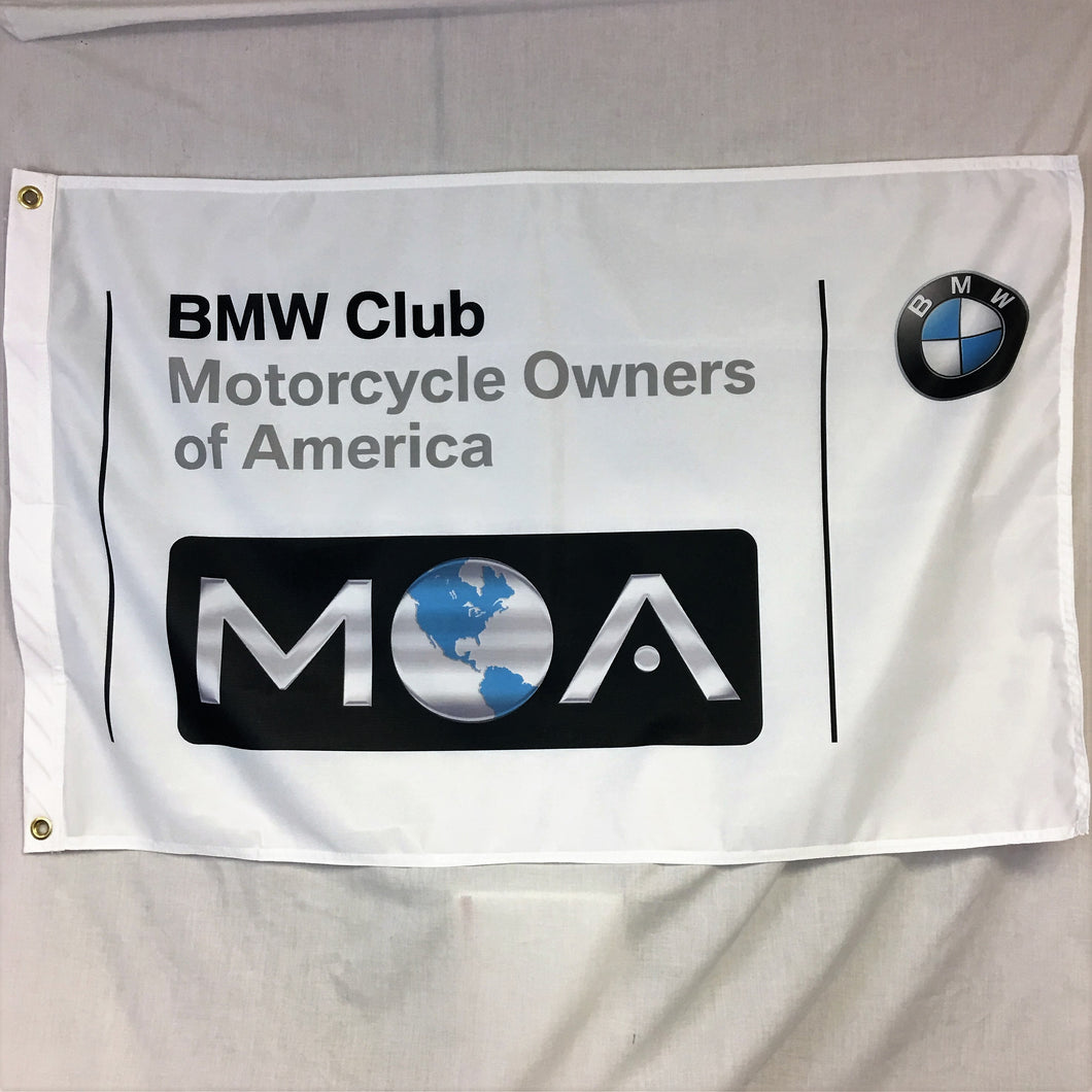 BMW MOA Club Flag