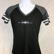 Ladies Established 1972 Game V-Neck Tee