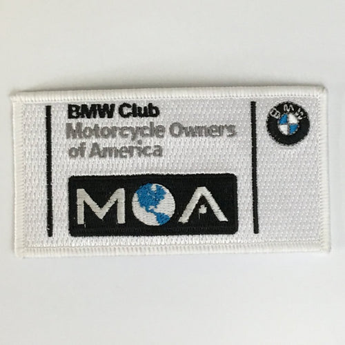 BMW MOA Club Logo Patch