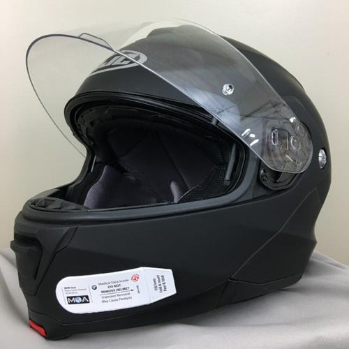 Medical Data Carrier For Motorcycle Helmets