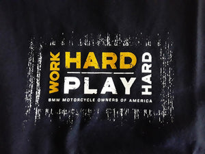 Mens Work Hard Play Hard T-Shirt