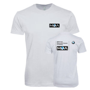 BMW Club Logo White Tee for Men & Women
