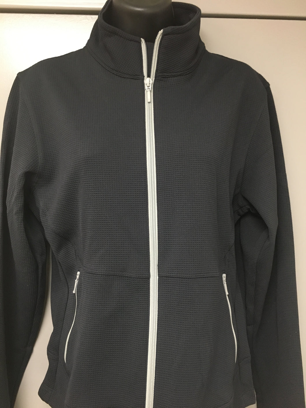 Men's Full Zip Syntrel Wicking Jacket - Logo on Back