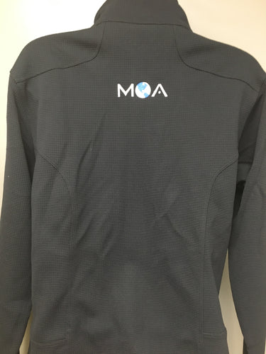 Men's Stockton Zippered Performance Jacket with MOA Logo on Back
