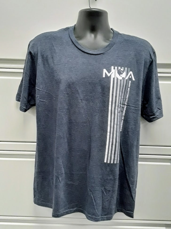 MOA Club Design Stripes T-Shirt for Men and Women