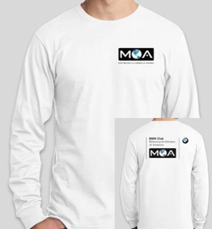 Long Sleeve Club Logo Tee Shirt
