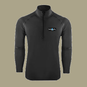 Men's Sport Wick Stretch Pullover Charcoal or Blue