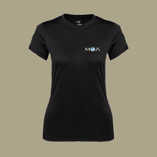 Ladies Syntrel Short Sleeve Wicking Tee