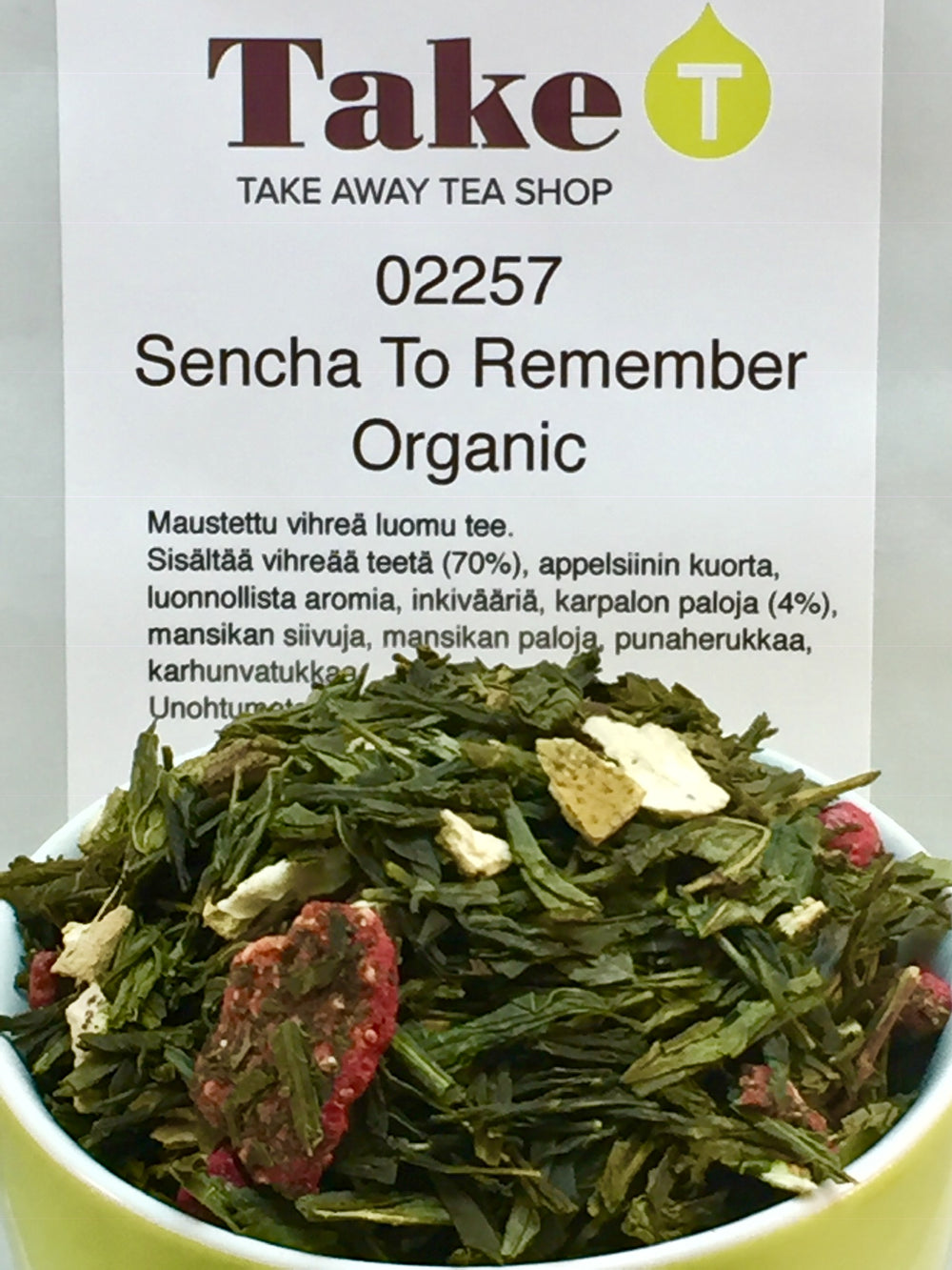Sencha To Remember Organic