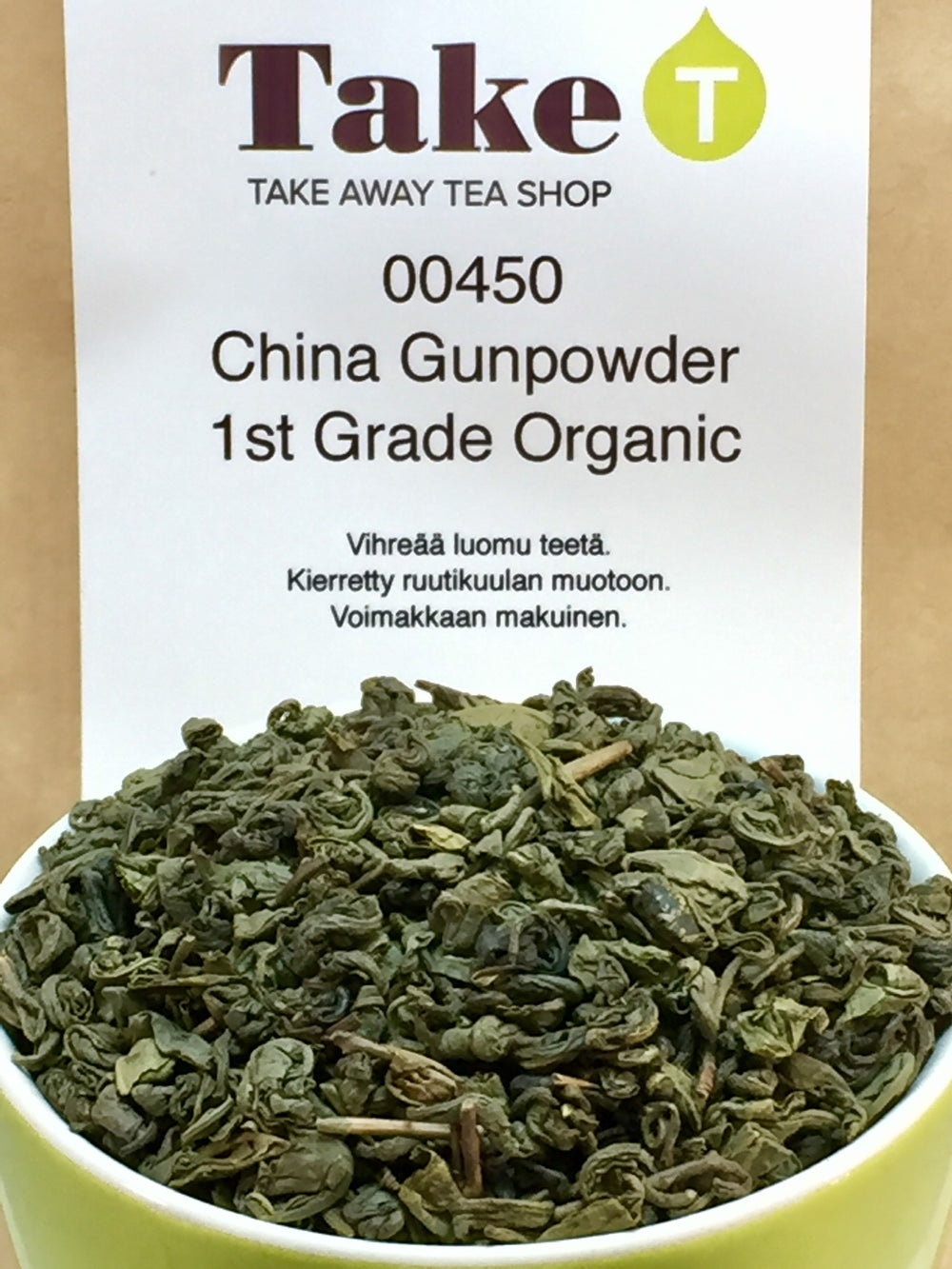 China Gunpowder 1st Grade Organic