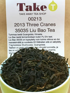 2013 Three Cranes 35035 Liu Bao Tea