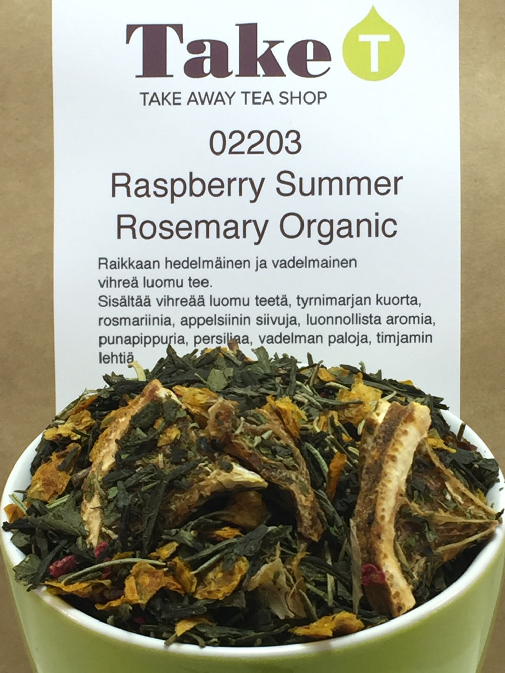 Raspberry Summer Rosemary Organic