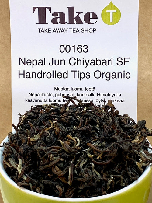 Nepal Jun Chiyabari SF Handrolled Tips Organic