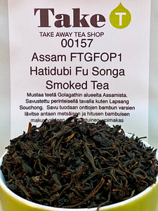Assam FTGFOP1 Hatidubi Fu Songa Smoked Tea