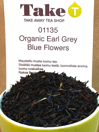 Organic Earl Grey Blue Flowers