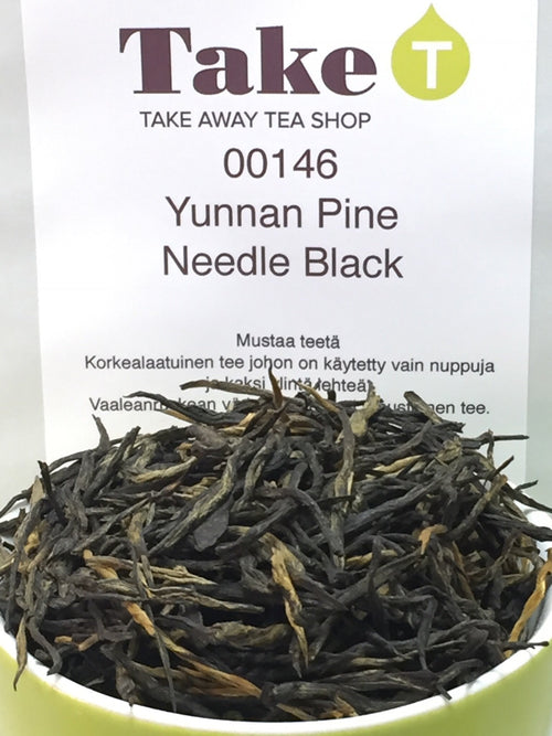 China Yunnan Pine Needle Black