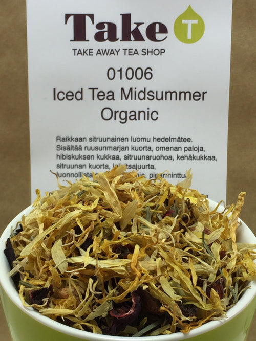 Fruit Infusion Iced Tea Midsummer Organic