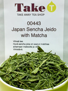 Japan Sencha Jeido with Matcha