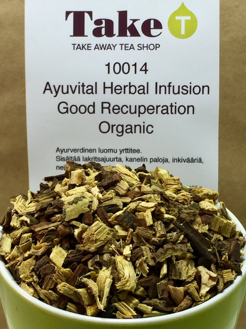 Ayuvital Herbal InfusionGood Recuperation Organic