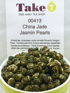 China Jade Jasmin Pearls