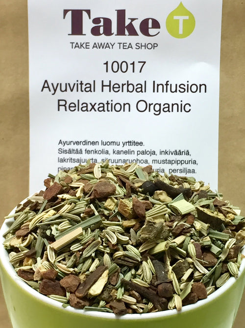 Ayuvital Herbal Infusion Relaxation Organic