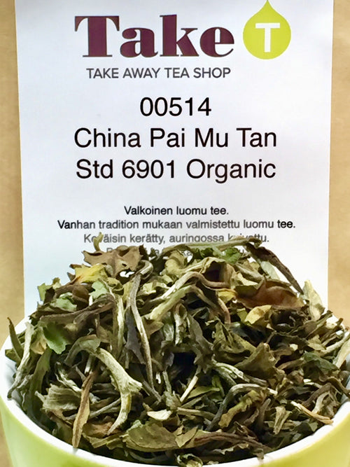 China Pai Mu Tan Std 6901 Organic