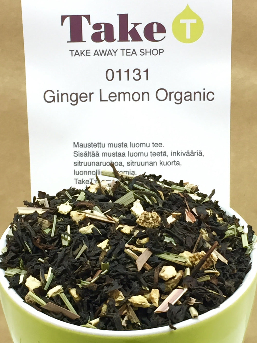 Black Tea Ginger Lemon Organic