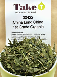 China Lung Ching 1st Grade Organic