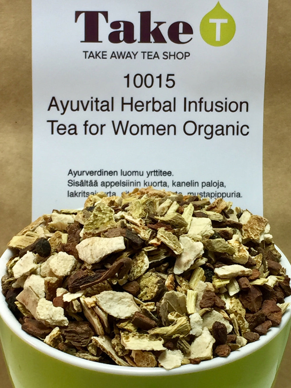Ayuvital Herbal Infusion Tea fo Women Organic
