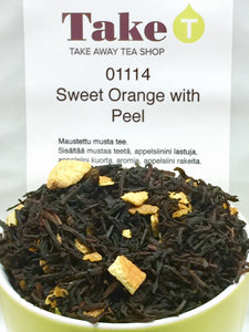 Organic Sweet Orange with Peel