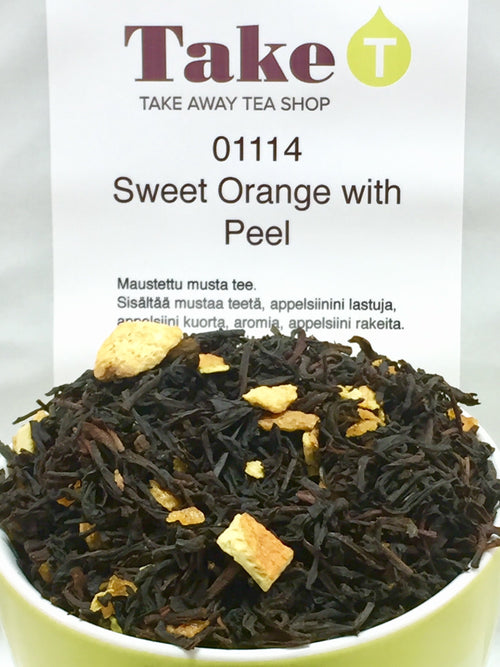 Sweet Orange with Peel