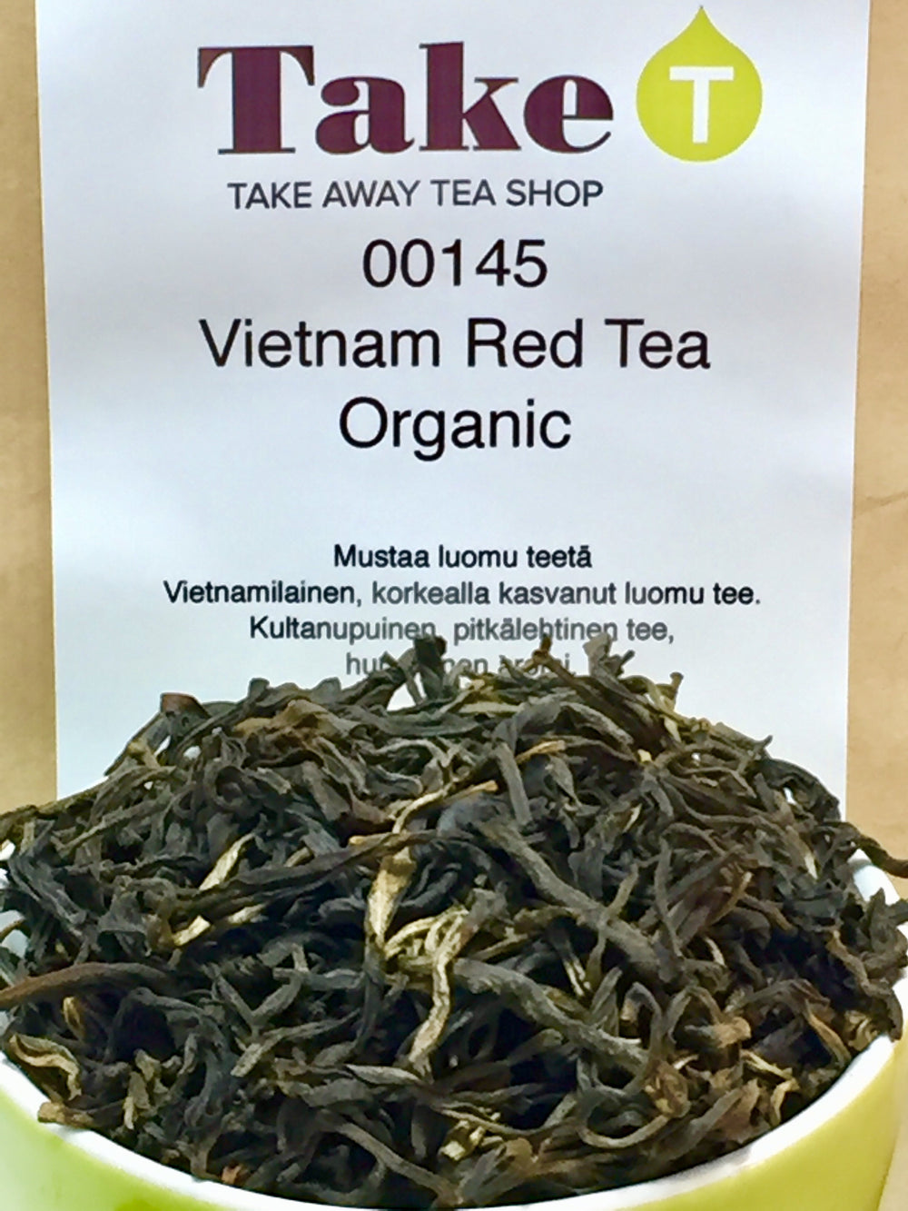Vietnam Red Tea Organic